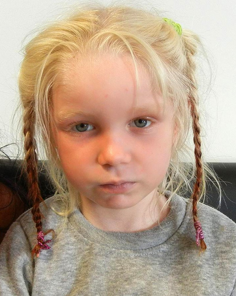 This 4-year-old girl going by the name Maria was found living in a Gypsy camp with a couple who have been arrested and charged with abducting her from her birth parents. Authorities request international assistance to identify the child and reunite her with her family.