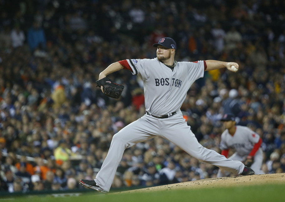 Boston Red Sox pitcher Jon Lester will start Game 1 of the World Series.