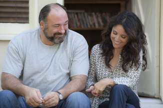 James Gandolfini and Julia Louis-Dreyfus in