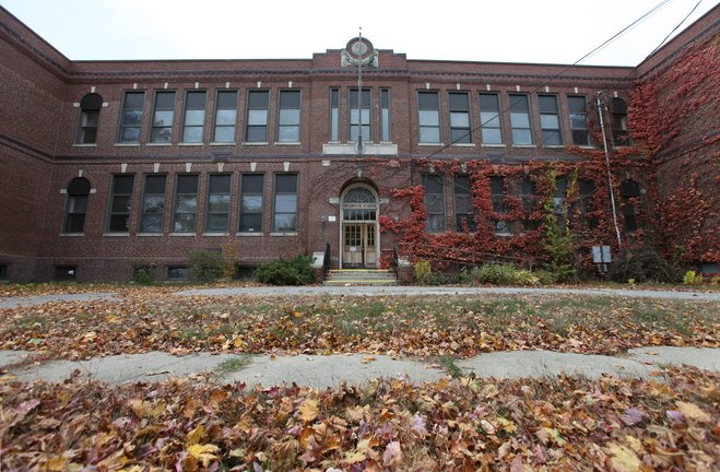 South Portland councilors are considering two bids for the Roosevelt Elementary School in South Portland, which is assessed at $738,300. Proposed are 40 senior housing units or 19 condominiums. The bids are $525,000 and $218,500, respectively.