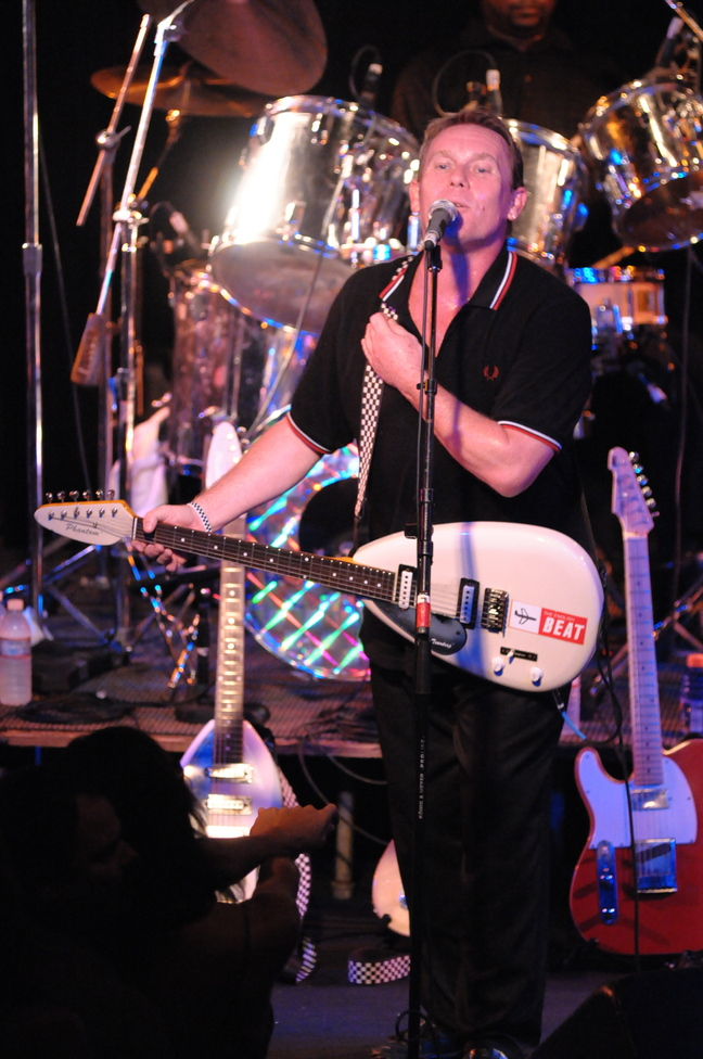 Dave Wakeling, The English Beat's front man, says the band will play new songs Thursday at Port City Music Hall.