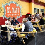 Plans to redevelop nearly three acres of downtown property on York Street took a step forward Tuesday when the Planning Board endorsed a zoning change to allow a parking garage. The property includes El Rayo Taqueria, pictured above.
