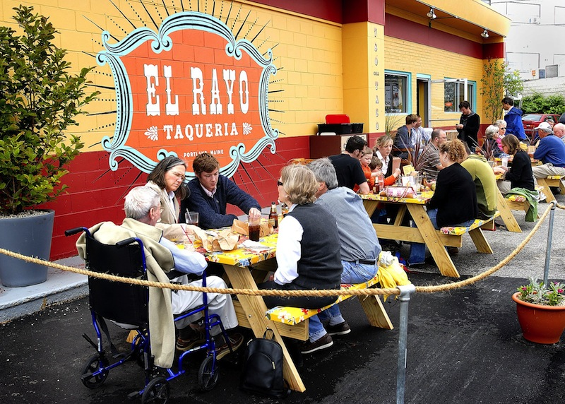 Plans to redevelop nearly 3 acres on York Street forced the El Rayo Taqueria to move out. The restaruant's owners now plan to reopen on Free Street.