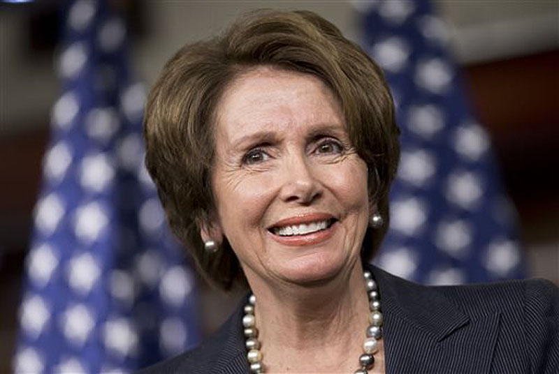 Rep. Nancy Pelosi, D-Calif., is among the nine women inducted into the National Women's Hall of Fame on Saturday.