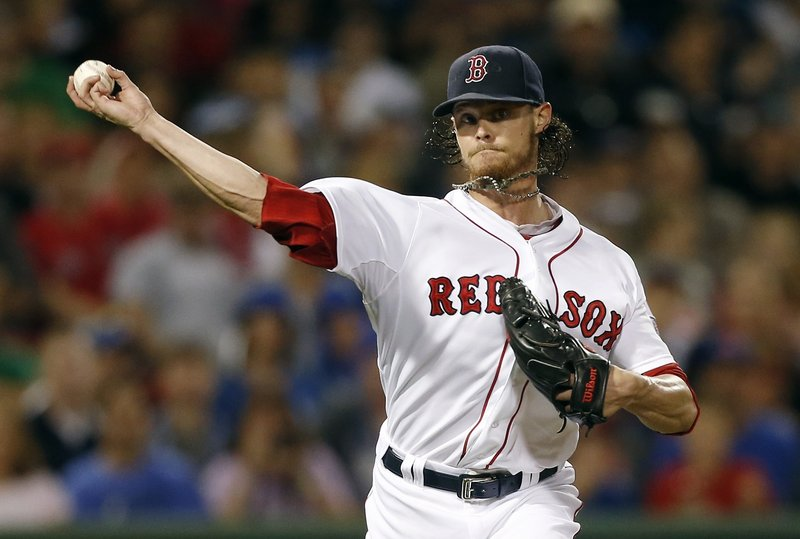 Clay Buchholz, starting pitcher. The Associated Press