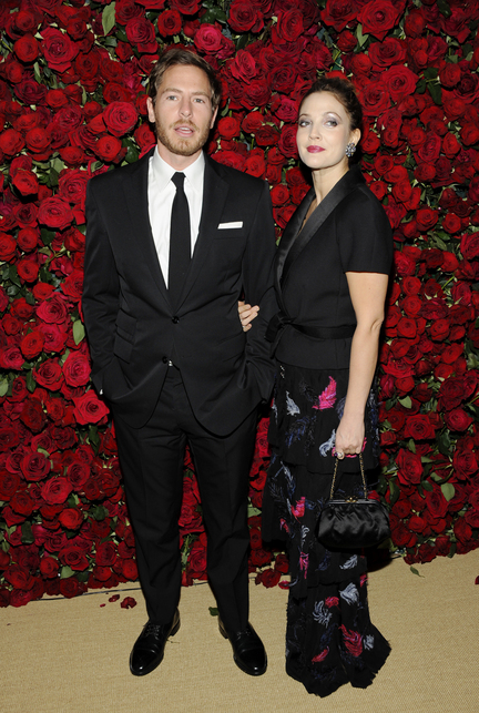 Actress Drew Barrymore and Will Kopelman attend an event in New York in 2011. A spokesman for the 38-year-old entertainer said Monday that Barrymore and her husband, Kopelman, are expecting their second child.