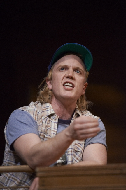 "Dustin Tucker in the Portland Stage production of ""Greater Tuna"""