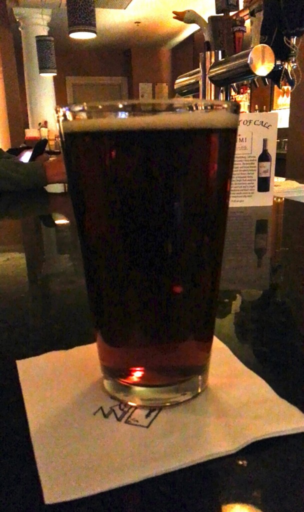 The beers on draught are all local craft brews, such as Geary's HSA.