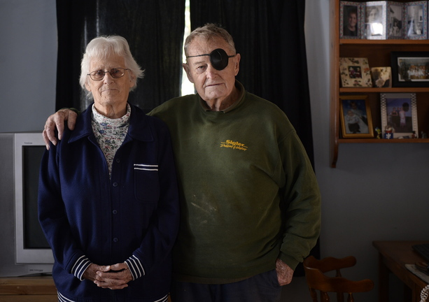Pauline Long of Camden, who with her husband, Cedric, has been scraping by financially, says she is touched by the outpouring of kindness since the newspaper's story.