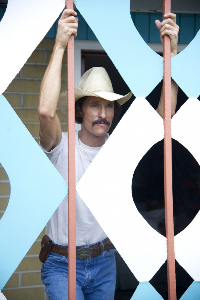 "Matthew McConaughey as Ron Woodroof in a scene from ""Dallas Buyers Club."""