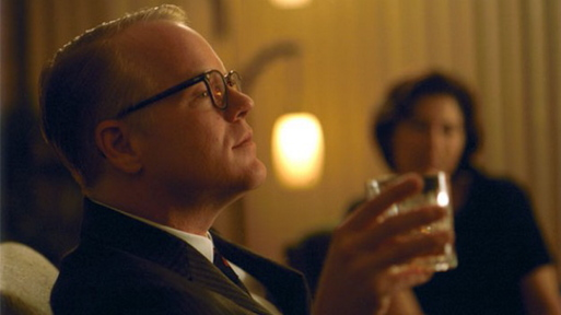 """Capote,"" starring Philip Seymore Hoffman, will be shown for free Thursday at the Portland Public Library as part of its National Novel Writing Month Film Series."
