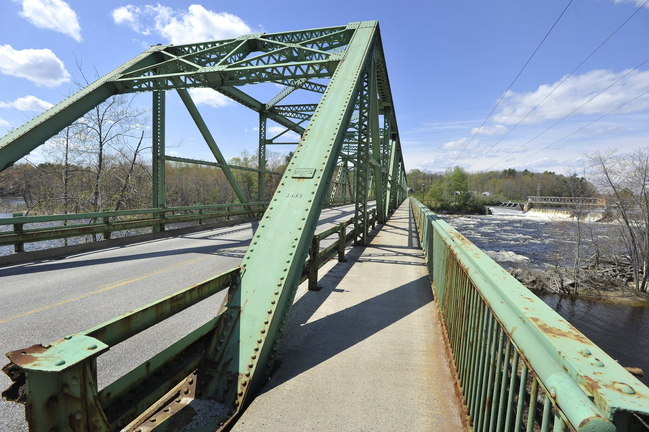 One high-priority project is the Bar Mills Bridge carrying Route 4A over the Saco River at the Buxton-Hollis line.