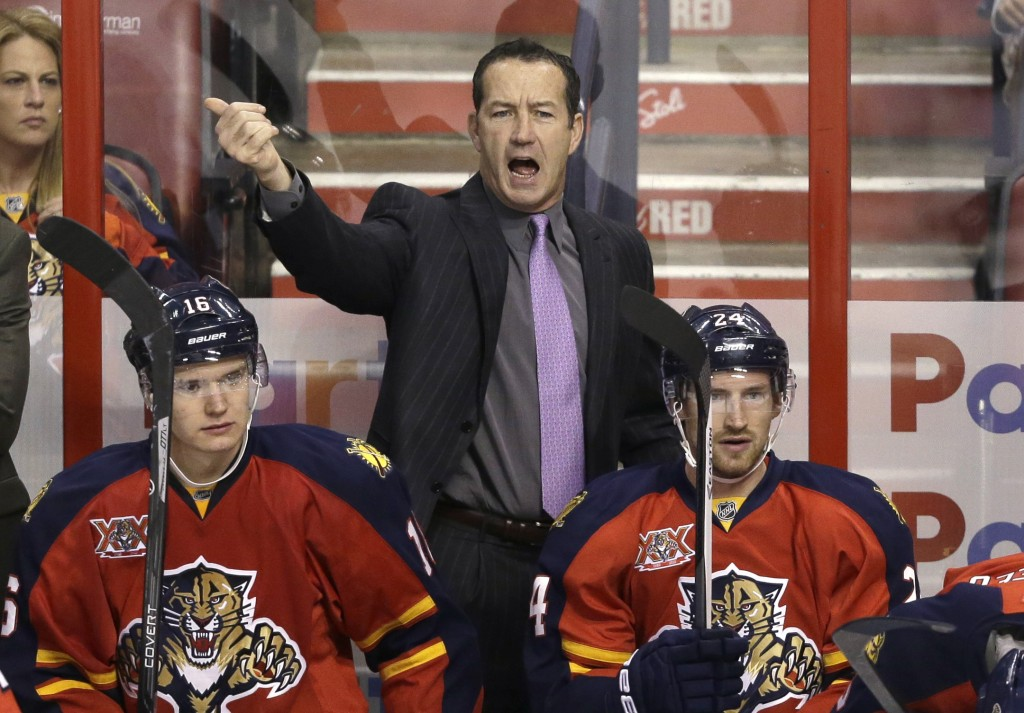 The Florida Panthers fired head coach Kevin Dineen on Friday.