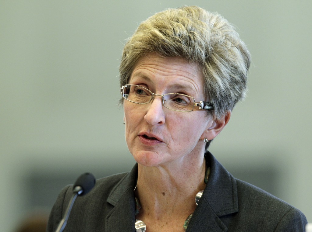 Jo Ann Rooney, President Obama's choice to become undersecretary of the Navy