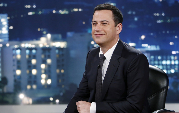 ABC's Jimmy Kimmel encouraged parents to tell their children that they had eaten all of their Halloween candy.