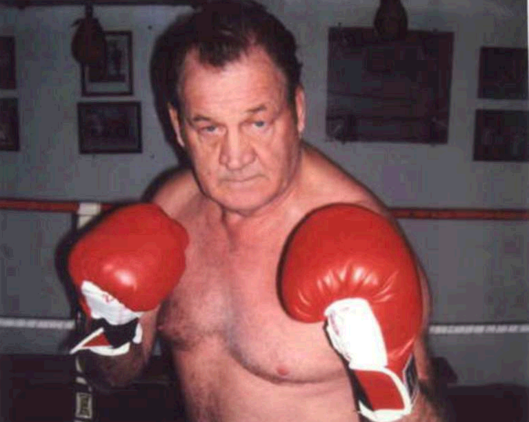 These days Jim McDermott, at 71, is lacing them up in a retirement community in Florida, where he still works a heavy bag three times a week.