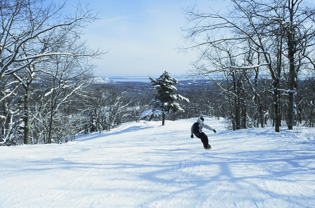 The Camden Snow Bowl is a rare jewel – a ski area with views of the ocean, but that makes it vulnerable to a host of seasonal uncertainties. Plans are in the works to ensure snow cover and better base amenities.