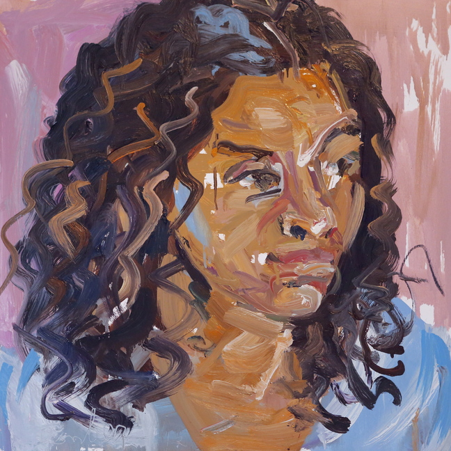 Four portraits painted by Jon Imber ...