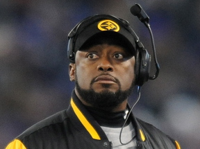 Pittsburgh Steelers head coach Mike Tomlin makes $5.25 million a season and the fine constitutes less than 2 percent of his annual salary.