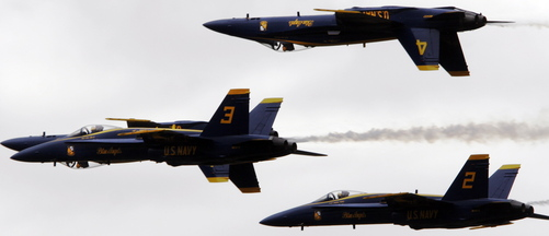 The U.S. Navy's Blue Angels will perform at the 2015 air show in Brunswick, if the authority that governs activities at the former Navy base authorizes an air show, an event that costs about $750,000 to host. The show would be held Labor Day weekend, Sept. 5-6, of 2015.
