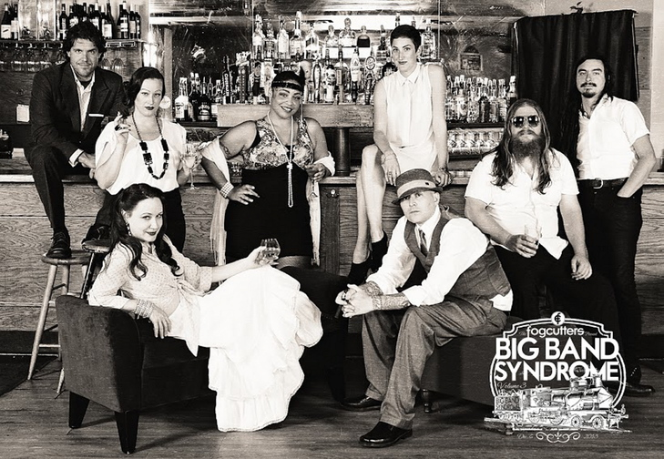 The Fogcutters will be raring to go Friday in Big Band Syndrome III at the State Theatre. Featured guests include Jason Spooner, Jaw Gems and Loretta Allen.