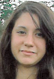 Abigail Hernandez, 15, of North Conway, N.H., is shown in an undated photo provided by the Conway (N.H.) Police Department.