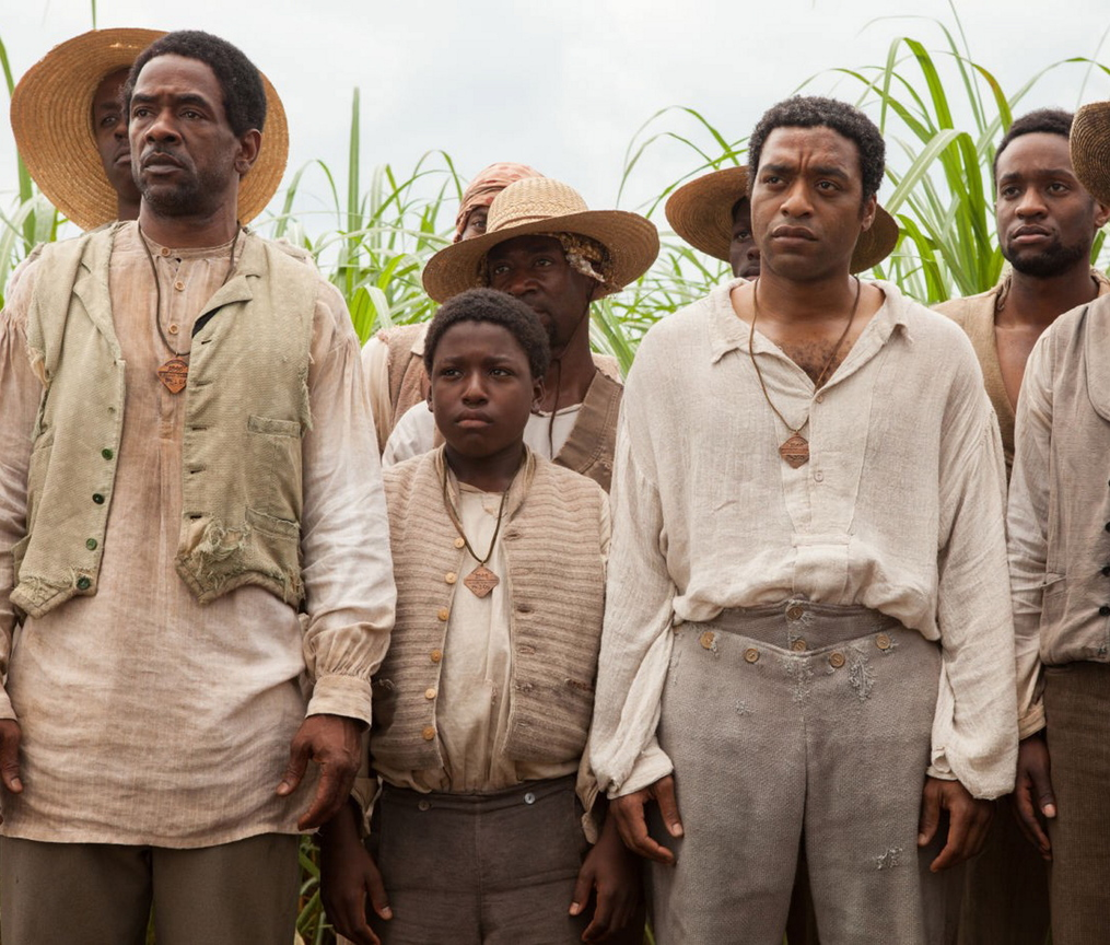 "Chiwetel Ejiofor, right, in ""12 Years a Slave."""