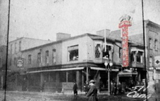 In the first half of the 1900s, Empire Chop Suey was a fixture on Congress Street in Portland, distinguished by the large red sign.