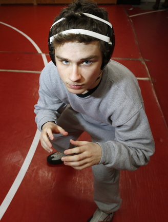Wells wrestler Colin Sevigney was a state champion last year at 126 pounds. He enters his senior year with a 96-12 record.
