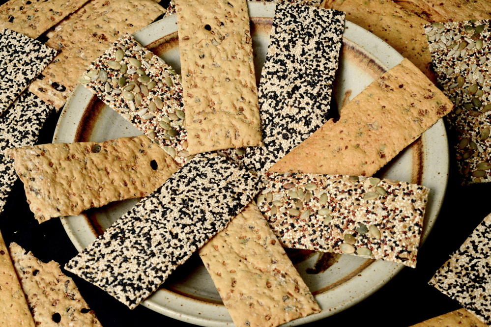 Diane Romagnoli's Craquelins are artisanal flatbread crisps topped with different seeds to give them color, texture and crunch.