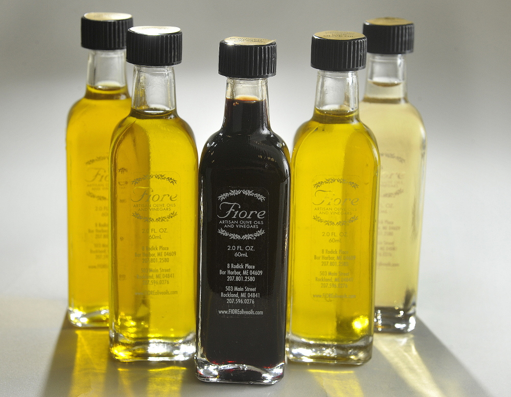 Fiore, a Maine company that imports ultra-premium extra-virgin olive oils, aged balsamic vinegars and other products, recently opened a new store at 58 Main St. in Freeport.
