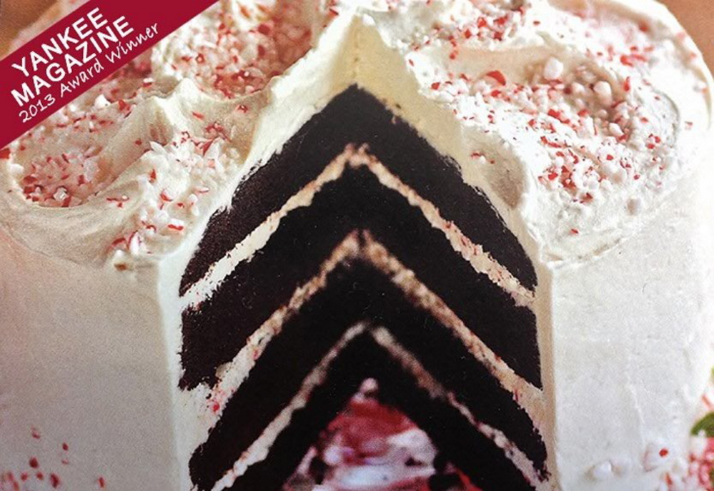 Cranberry Island Kitchen's Peppermint Whoopie Pie Cake just won an