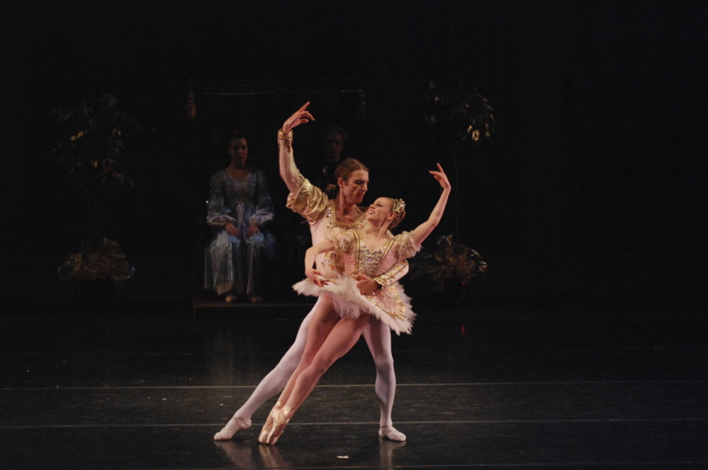 "Megan Buckley will reprise her role as the Sugarplum Fairy. Performing with her in a previous ""Nutcracker"" is guest artist J Ryan Carroll."