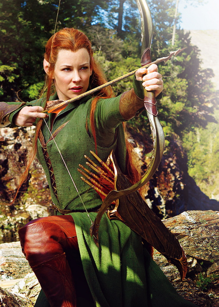 Evangeline Lilly is the elf warrior Tauriel.