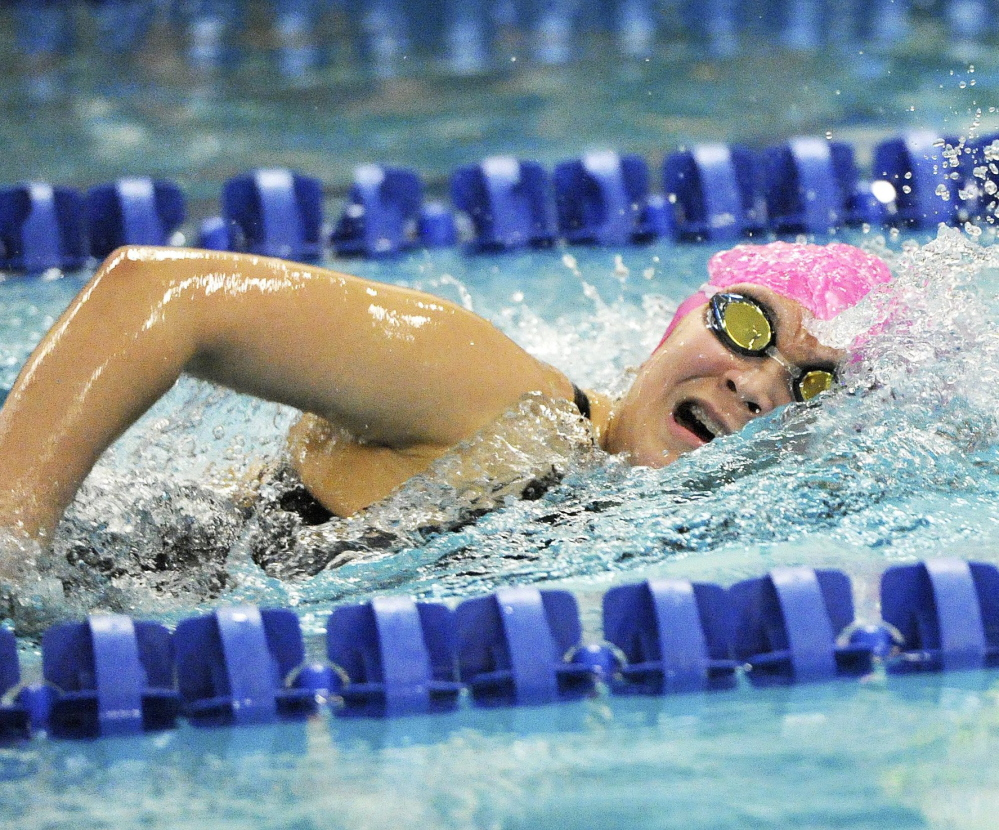 Greely's Hwanhee Park, just a sophomore, already has distinguished herself as a champion in the 500 freestyle and she figures to only get better for the rest of her high school career, and that's reason aplenty for Ranger optimism.