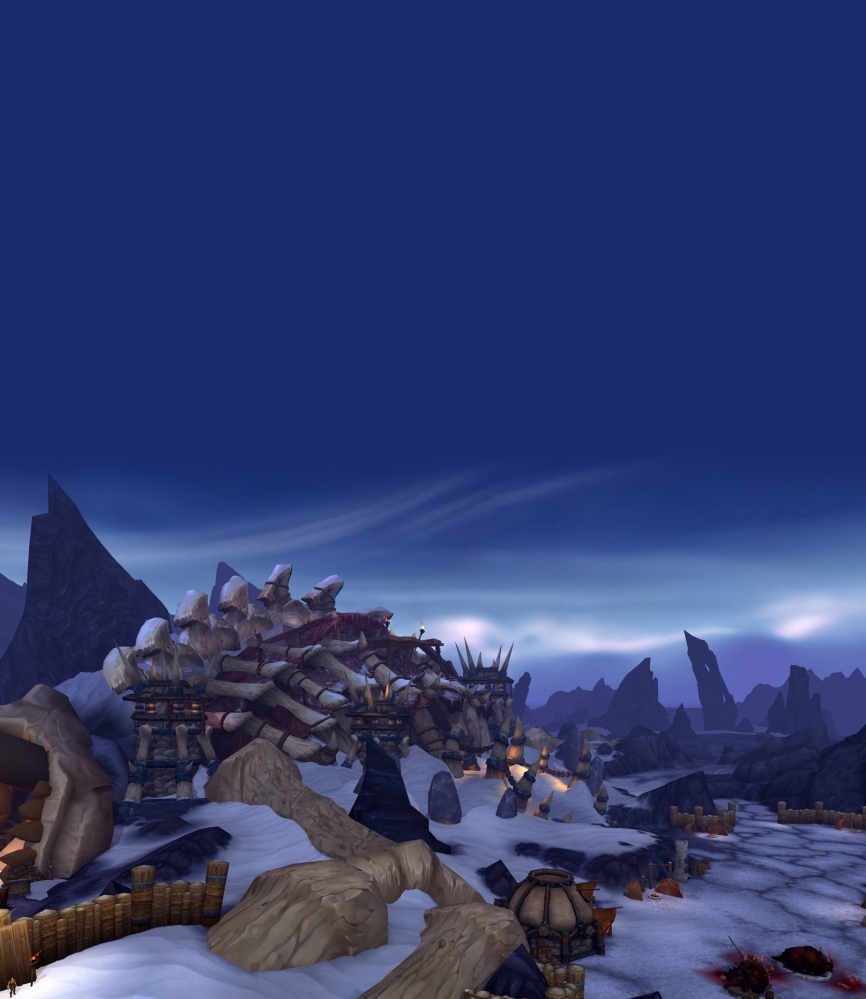 "A screen shot of the ""World of Warcraft."""