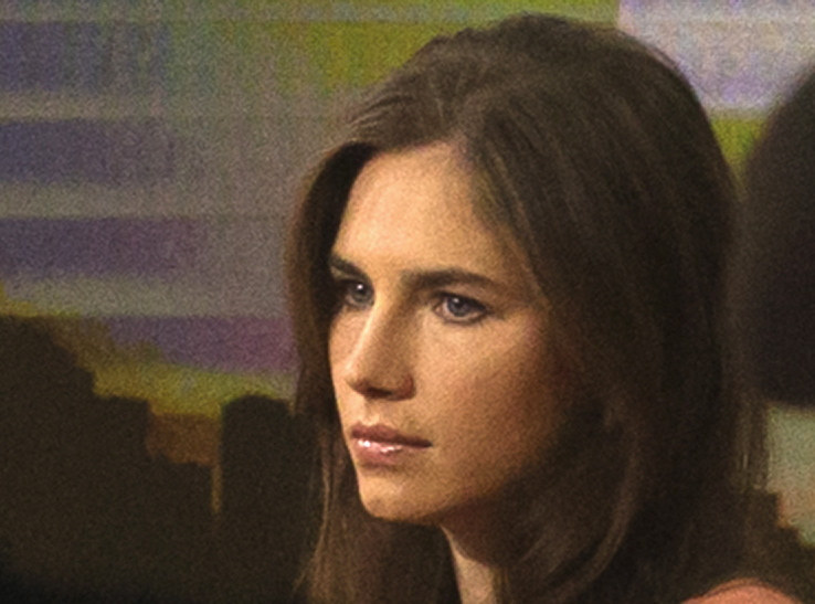 Amanda Knox declared her innocence in an email read Tuesday by the judge hearing her murder case.