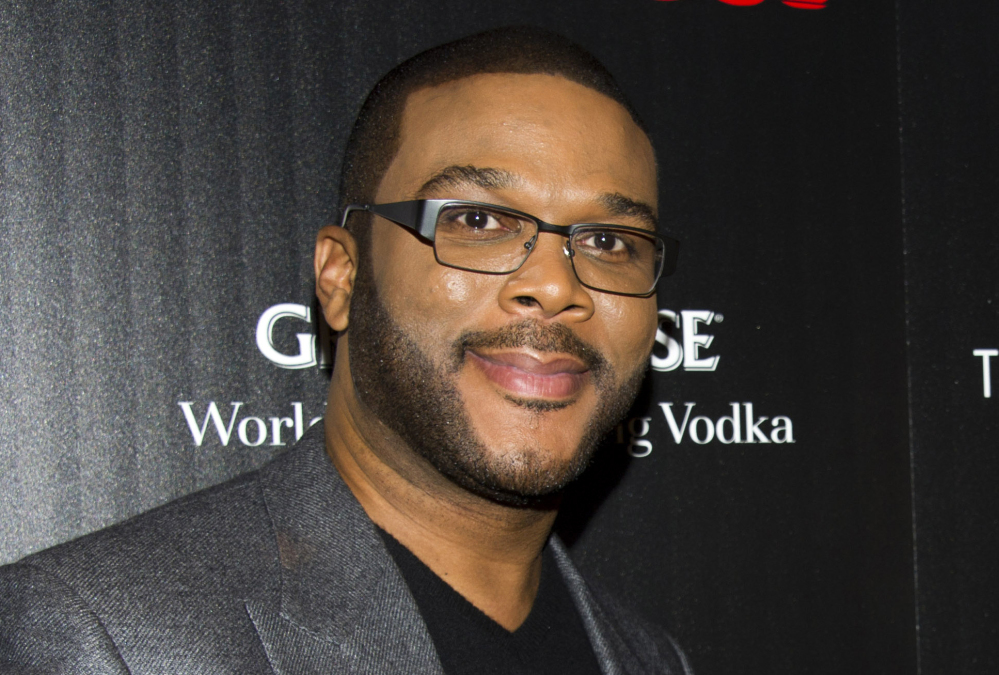 "Tyler Perry, who plays an attorney in ""Gone Girl,"" is awed by the genius of its ""di-rec-tor,"" David Fincher."