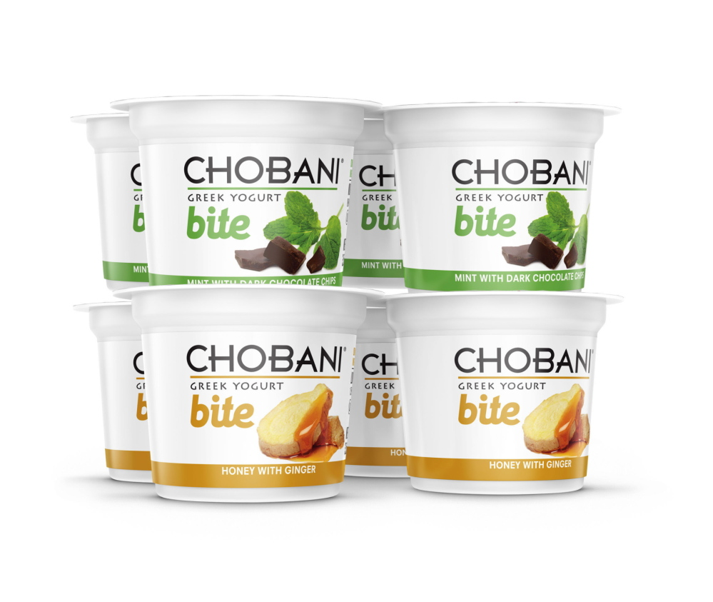 Chobani photo Containers of Chobani's Bite Greek Yogurt. Greek yogurt now accounts for more than a third of the U.S. yogurt market, and Chobani is the top Greek yogurt brand.