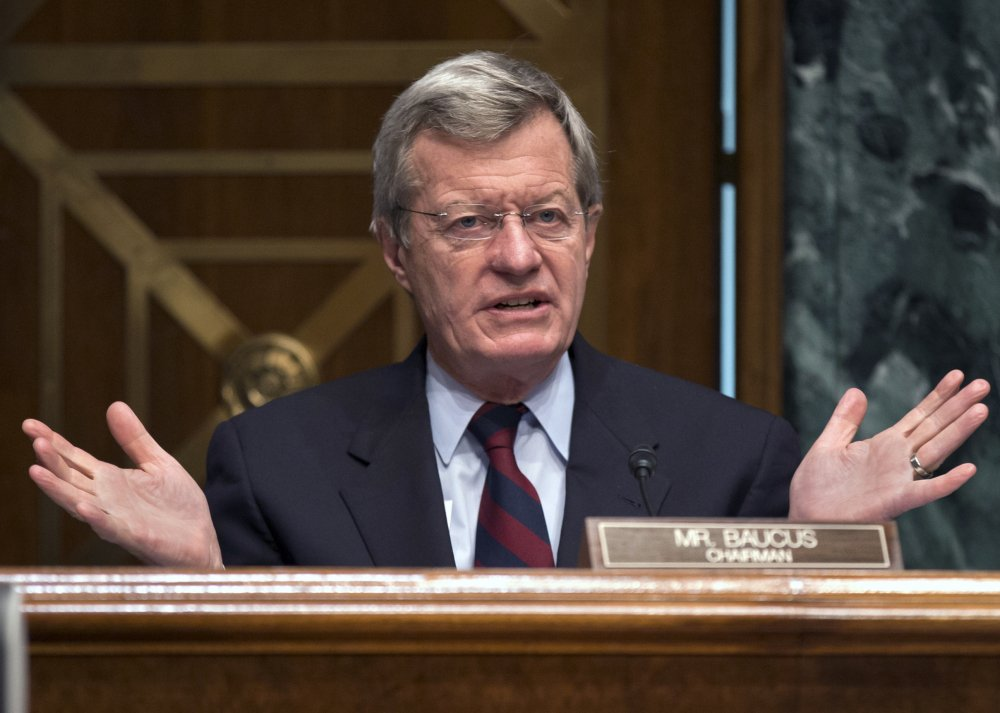 Six-term Sen. Max Baucus, D-Mont., has been chairman of the Finance Committee, which has jurisdiction over taxes, trade, health care and more. He has traveled to China more than a half-dozen times.
