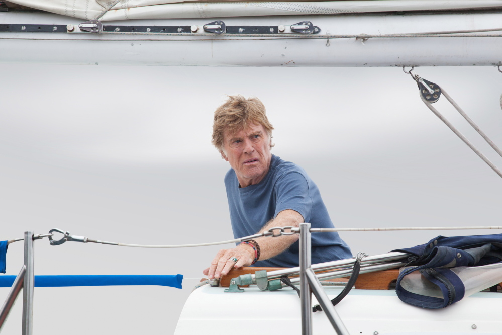 "Robert Redford stars in J.C. Chandor's ""All Is Lost."""