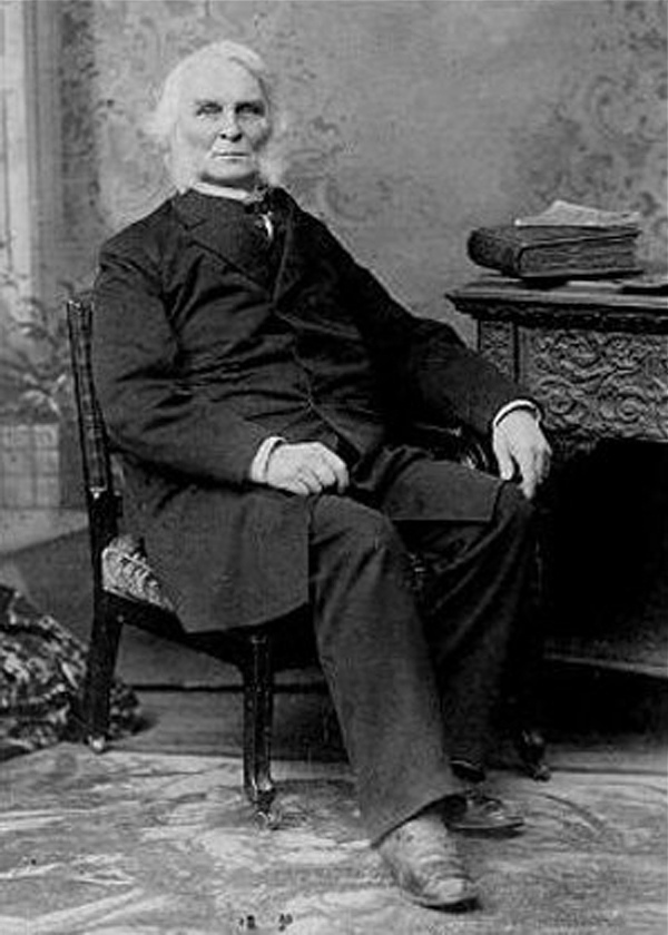 Neal S. Dow of Portland led the temperance movement.