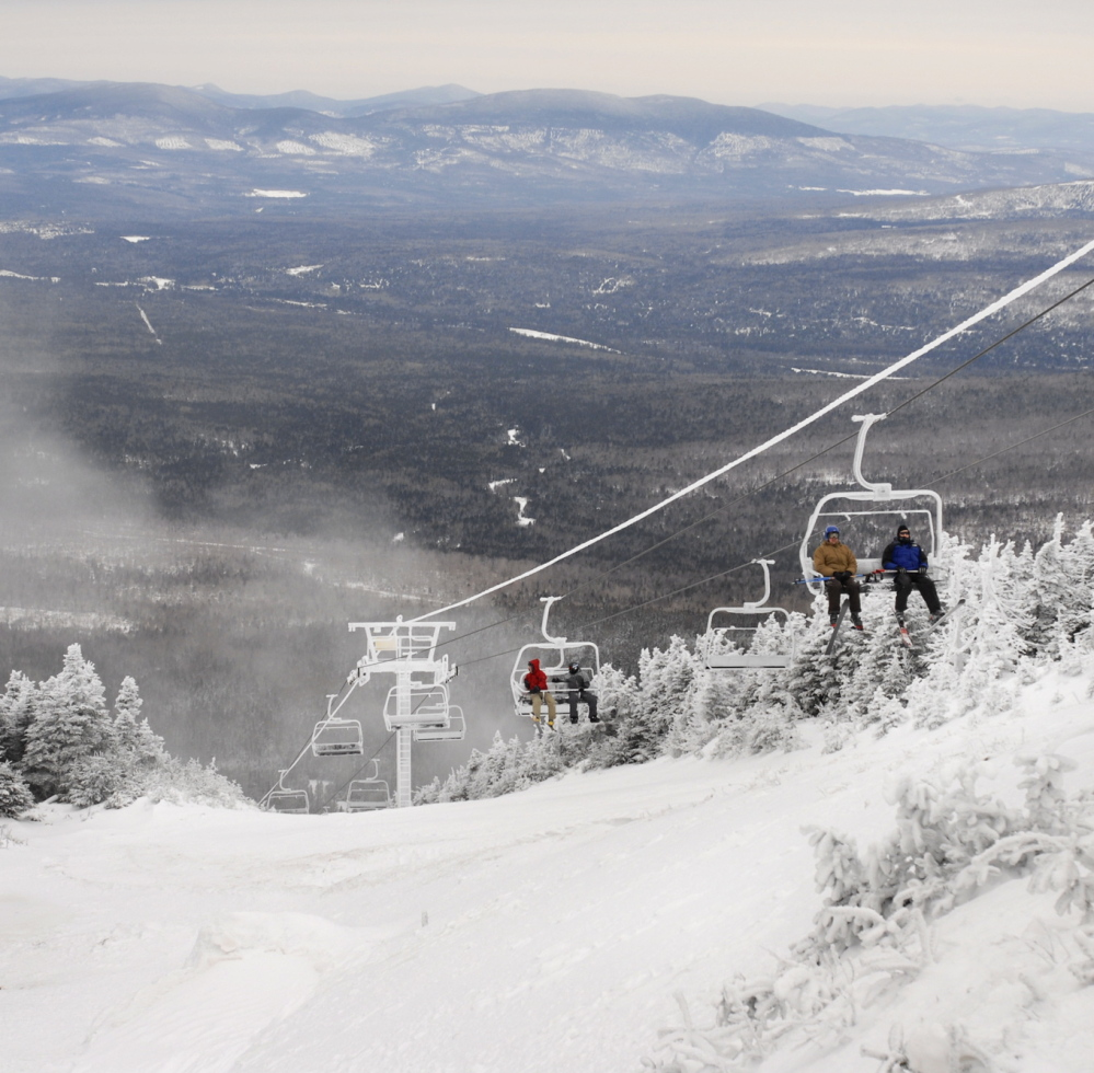 Saddleback Maine is trying to raise $3 million in capital to replace one of its chairlifts.