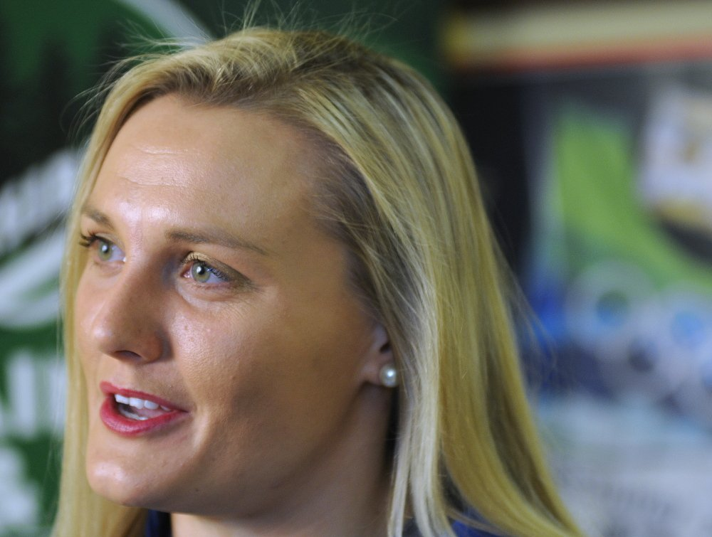 """Julia Clukey of Augusta talks about her future after she failed to qualify for the U.S. Olympics team that will go to Sochi in February. """"I know ... I will learn the lessons I need to learn from this and come out a stronger person,"""" she said, adding that she will watch the Olympics and """"support my team."""""""