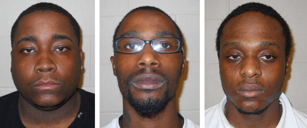 From left: Terry Morant, Jumonai Mobley and Johnothan Lopes.
