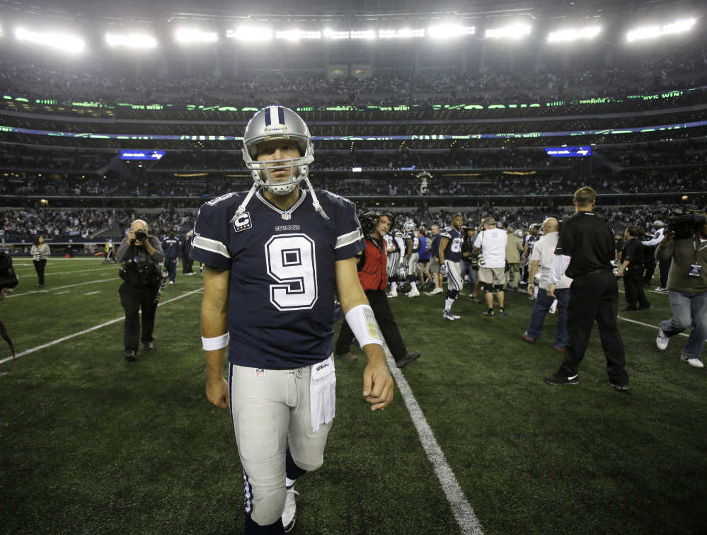 Dallas Cowboys quarterback Tony Romo will miss the rest of the season because of a back injury, a league source told ESPN NFL Insider Adam Schefter on Monday.