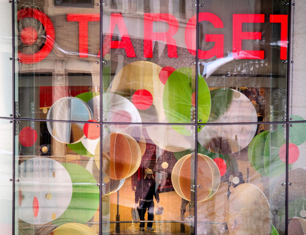 This Dec. 19, 2013, photo shows a Target store near Target headquarters in Minneapolis. Target says that about 40 million credit and debit card accounts customers may have been affected by a data breach that occurred at its U.S. stores between Nov. 27 and Dec. 15. (AP Photo/The Star Tribune, Glen Stubbe) MANDATORY CREDIT; ST. PAUL PIONEER PRESS OUT; MAGS OUT; TWIN CITIES TV OUT