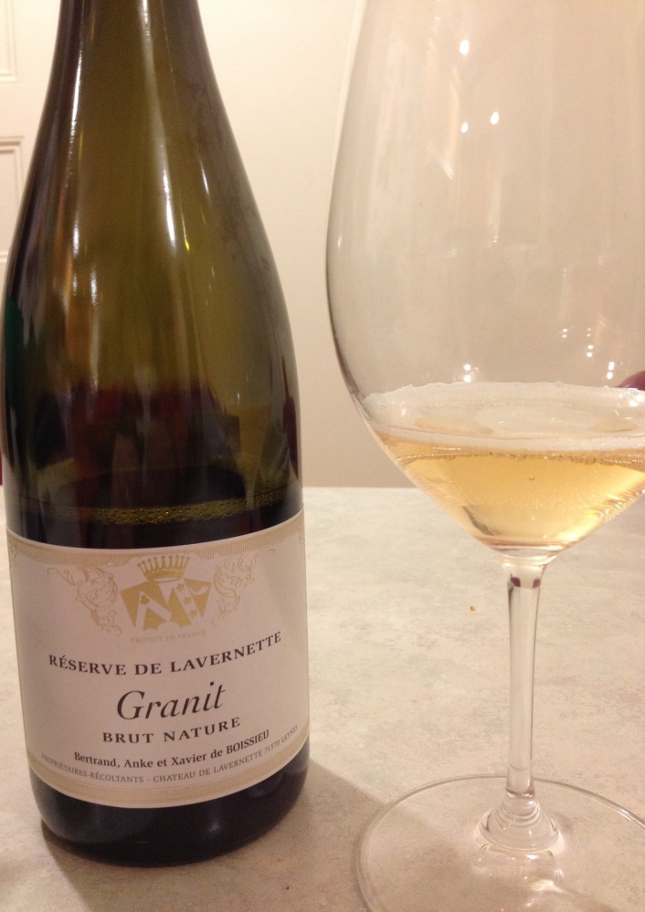 "The Château de Lavernette ""Granit"" Brut Nature ($28) stole the heart of this writer."