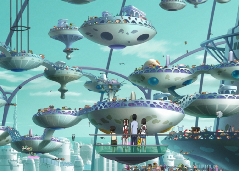 """Welcome to The Space Show,"" a Japanese animated feature film, will be shown in a family event at Space Gallery in Portland at 9:30 a.m. Saturday."