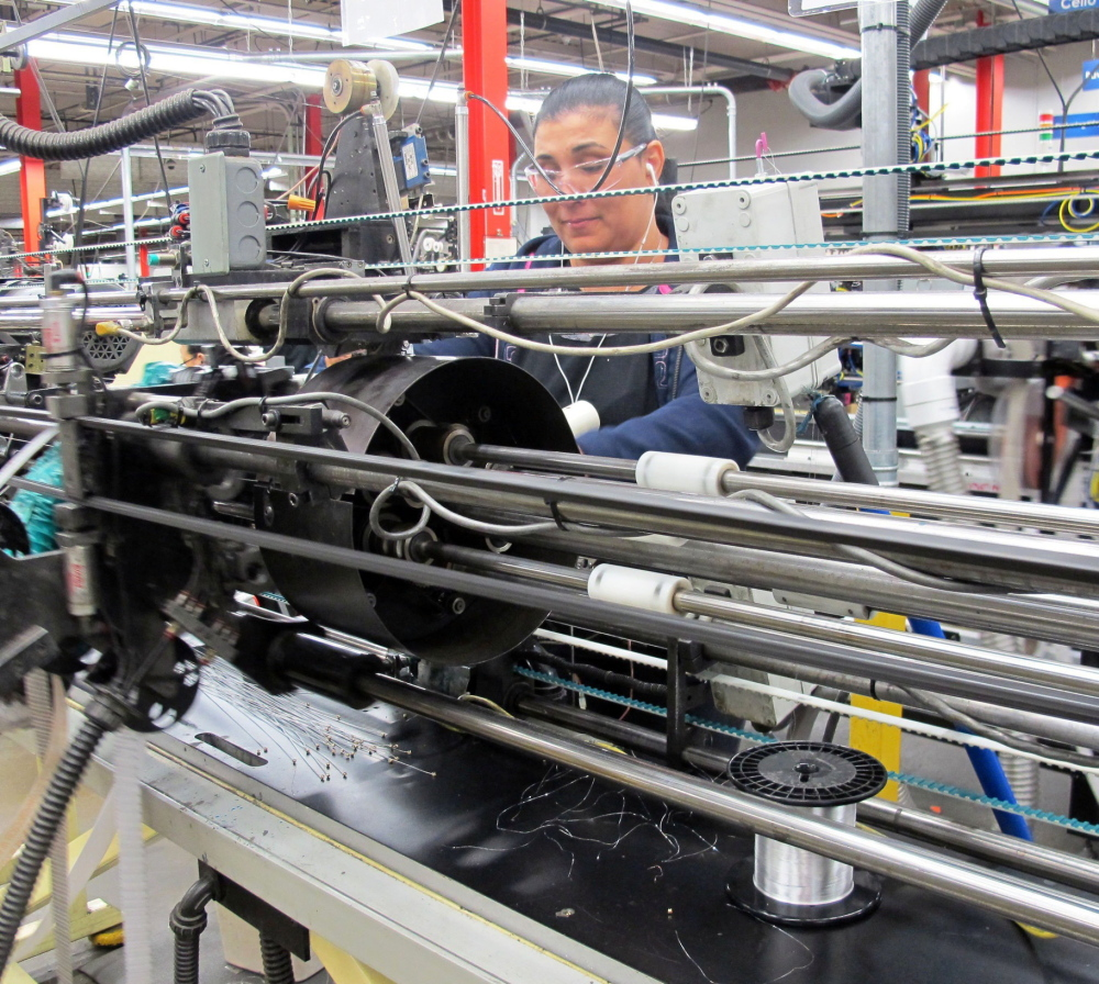 D'Addario & Co.'s string-making plant in Farmingdale, NY, churns out more than 700,000 strings a day over three shifts.